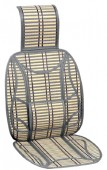 Vitol CW-SC9038 Накидка на сиденье бамбуковая бежевая, 2шт