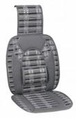 Vitol CW-SC9098 Накидка на сиденье бамбуковая серая, 2шт