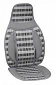 Vitol CW-SC9101 Накидка на сиденье бамбуковая серая, 2шт