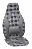 Vitol CW-SC9107 Накидка на сиденье бамбуковая серая, 2шт