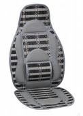 Vitol CW-SC9122 Накидка на сиденье бамбуковая серая, 2шт