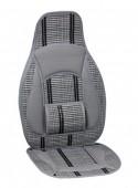 Vitol CW-SC9125 Накидка на сиденье бамбуковая серая, 2шт