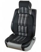 Vitol SC5168 Накидка на сиденье бамбуковая черная, 2шт