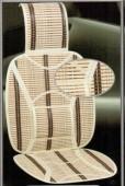 Vitol SC9025 Накидка на сиденье бамбуковая бежевая, 2шт