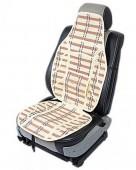 Vitol SC9052 Накидка на сиденье бамбуковая бежевая, 2шт