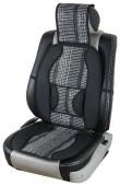 Vitol SC9075 Накидка на сиденье бамбуковая черная, 2шт