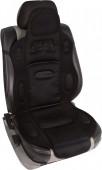 Vitol F 19002 BK Накидка на сиденье черная, 1шт