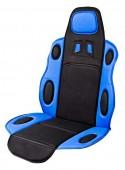 Vitol F 19002 BL/BK Накидка на сиденье черно-синяя, 1шт