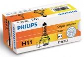 Philips Vision H11 12V 55W Автолампа галогенная, 1шт