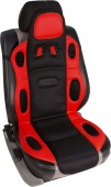 Vitol F 19002 RD/BK Накидка на сиденье черно-красная, 1шт
