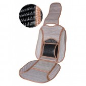 Vitol MF 121009 Накидка на сиденье бамбуковая серая, 1шт