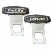 Carlife Фиксатор ремня безопасности, металл