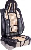 Vitol FD102006 BK Накидка на сиденье бамбуковая черная, 1шт