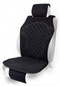 Vitol FD102070 BK Накидка на сиденье черная, 1шт