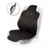 Vitol H 19002 BK Накидка на сиденье с подогревом пульт, черная 1шт