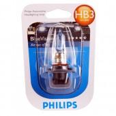 Philips BlueVision Ultra HB3 60W Автолампа галоген, 1шт