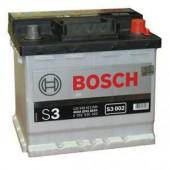 Bosch Аккумулятор автомобильный Bosch S3 SILVER 45 А*ч +/- 400A