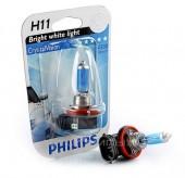 Philips CrystalVision H11 12V 55W Автолампа галоген, 1шт