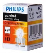 Philips Standart H2 12V 55W Автолампа галоген, 1шт