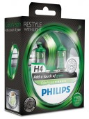 Philips ColorVision H4 12V 60/55W Автолампа галоген, 2шт