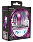 Philips ColorVision H4 12V 60/55W ��������� �������, 2��