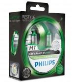 Philips ColorVision H7 12V 55W Автолампа галогенная, 2шт