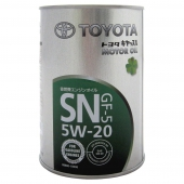 Toyota SN/GF-5 5W-20 (Japan) Оригинальное моторное масло