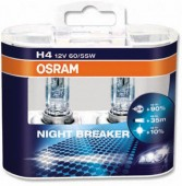 Osram 64193 NBP NIGHT BREAKER PLUS H4 12V 60/55W P43t ��������� ����������