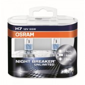 Osram Night Breaker Unlimited 64210 H7 12V 55W ��������� ����������, 2��
