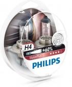 Philips VisionPlus H4 12V 60/55W Автолампа галоген, 2шт