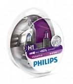 Philips VisionPlus H1 12V 55W Автолампа галоген, 2шт