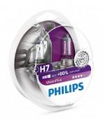 Philips VisionPlus H7 12V 55W Автолампа галоген, 2шт