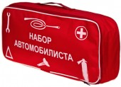 Vitol ST-02 Сумка автомобилиста стандартная, красная