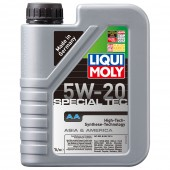 Liqui Moly Special TEC AA (Leichtlauf Special AA) 5W-20 HC-синтетическое моторное масло (7620, 7621)
