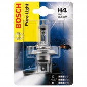 Bosch Pure Light H4 12V 60/55W ��������� �����������, 1��