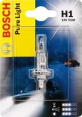 Bosch Pure Light H1 12V 55W ��������� �����������, 1��