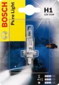 Bosch Pure Light H1 12V 55W Автолампа галогеновая, 1шт