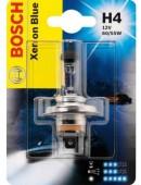 Bosch Xenon Blue H4 12V 60/55W Автолампа галогеновая, 1шт