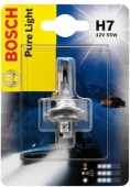Bosch Pure Light H7 12V 55W ��������� �����������, 1��