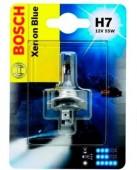 Bosch Xenon Blue H7 12V 55W Автолампа галогеновая, 1шт