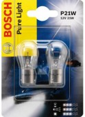 Bosch Pure Light P21W 12V 21W Автолампа, 2шт