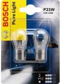 Bosch Pure Light P21W 12V 21W Автолампа, 2шт