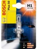Bosch Plus 50 H1 12V 55W Автолампа галогеновая, 1шт