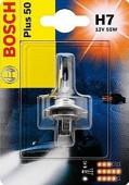 Bosch Plus 50 H7 12V 55W Автолампа галогеновая, 1шт