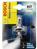 Bosch Xenon Silver H7 12V 55W Автолампа галогеновая, 1шт