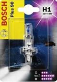 Bosch Plus 90 H1 12V 55W Автолампа галогенная, 1шт