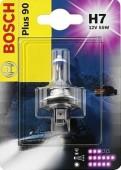 Bosch Plus 90 H7 12V 55W Автолампа галогеновая, 1шт
