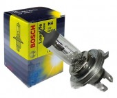 Bosch Longlife Daytime H4 12V 60/55W Автолампа галогенная, 1шт