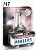 Philips VisionPlus H7 12V 55W Автолампа галоген, 1шт