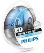 Philips DiamondVision H1 12V 55W Автолампа галоген, 2шт